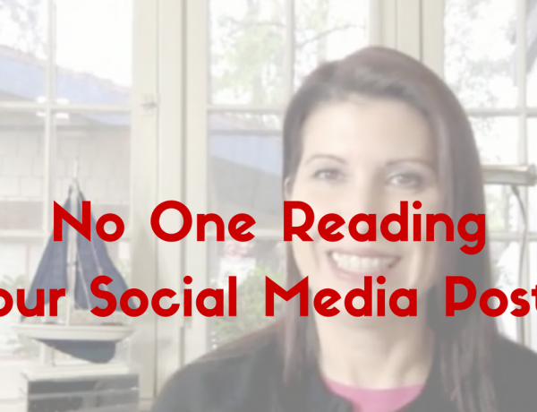 No One Reading Your Social Media Posts?