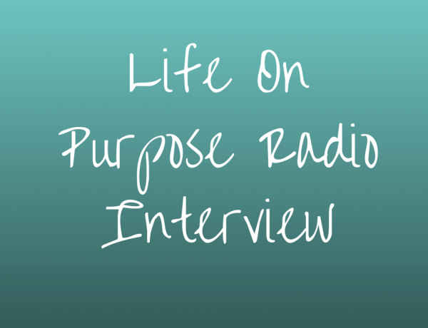 Hear my interview on Life Purpose Radio with Suzanne Strisower